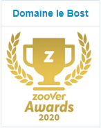 Zoover Award | Domaine Le Bost | www.domaine-lebost.com